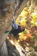 "Rock Climbing Photo: Matt Daniels Climbing ""The show me state&quot..."