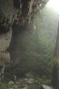 Rock Climbing Photo: Close Encounters