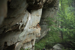 Rock Climbing Photo: Sit down rest on Close encounters
