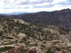 Rock Climbing Photo: brushy gully