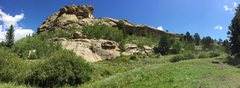 Rock Climbing Photo: Anyone recognize this crag? It is just outside the...