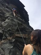Rock Climbing Photo: River Wall Clear Creek Canyon