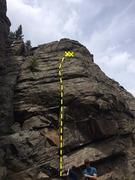 Rock Climbing Photo: High Wire Crag