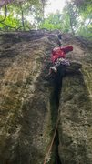 Rock Climbing Photo: Chris Kreutzer on the first assent, thanks to Zizh...