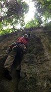Rock Climbing Photo: Chris Kreutzer on the first assent, thanks to Zizh...