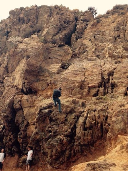 Rock Climbing Photo: 17MAY2015 There were some climbers there hogging u...