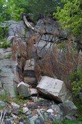 Rock Climbing Photo: Fallen Pillar