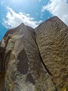 Rock Climbing Photo: Butt Crack 5.10