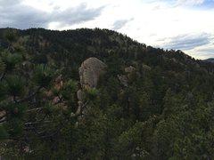 Rock Climbing Photo: Alamo Rock viewed from the southeast.