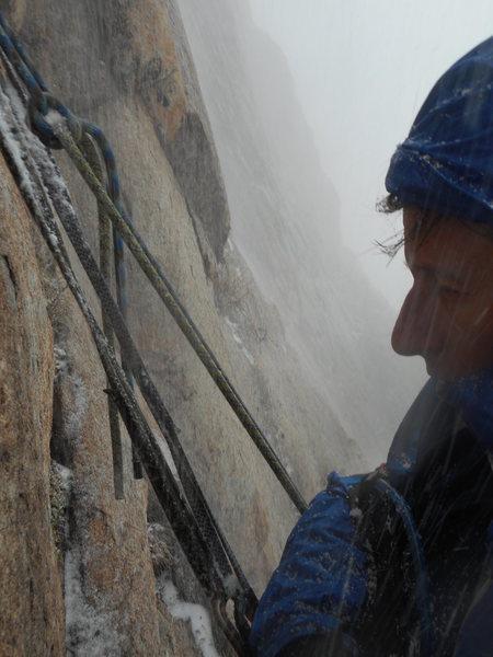 Rock Climbing Photo: Carter Classic, Davis Face, Buena Vista, CO. Top o...