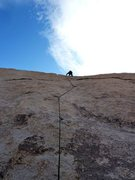 Rock Climbing Photo: H.R. Hardman (5.8), Joshua Tree NP