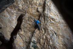 Rock Climbing Photo: Great Train Robbery