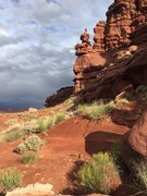 Rock Climbing Photo: Shot from walk in