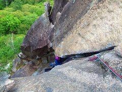 Rock Climbing Photo: The chimney