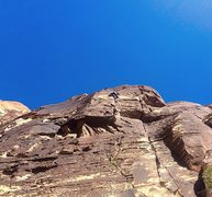 Rock Climbing Photo: Melissa cruising p4