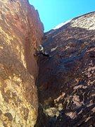 Rock Climbing Photo: The beautiful corner