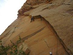 Rock Climbing Photo: Crux moves