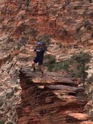 Rock Climbing Photo: Boulder in Zion Nat'l Park.