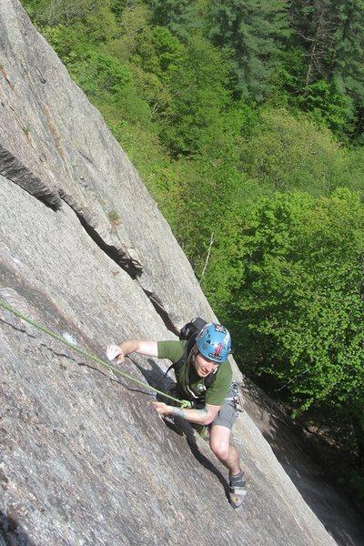 Rock Climbing Photo: one last jeremy pic
