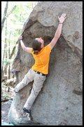 Rock Climbing Photo: reach