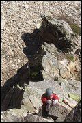 Rock Climbing Photo: devon... exposure..