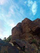 Rock Climbing Photo: Melissa on Potzo's Pudding