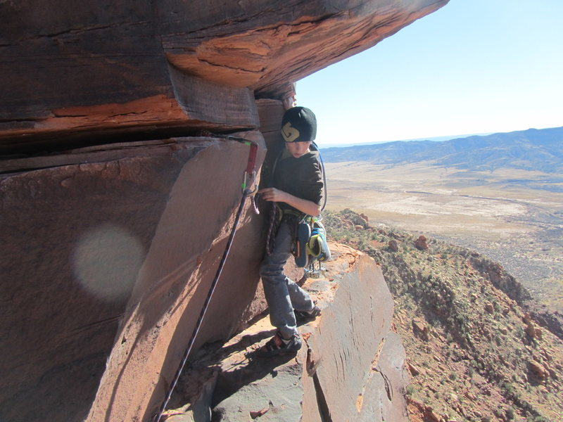 Rock Climbing Photo: ask this guy....