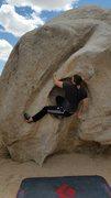 Rock Climbing Photo: Enjoying the sloping fun.