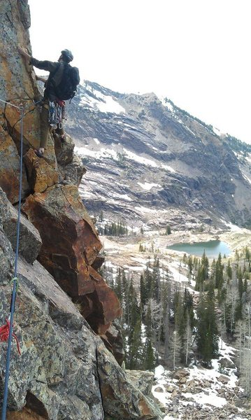 Rock Climbing Photo: From spring of 2013