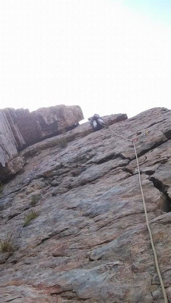 Rock Climbing Photo: Fall of 2013- took Kirk Hilton on his first multi-...
