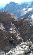 Rock Climbing Photo: Bad ass belayer