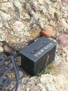 Rock Climbing Photo: The journal-ammo can at the summit