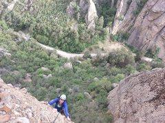 Rock Climbing Photo: On Tachycardia