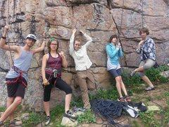 Rock Climbing Photo: The Ruth Crew