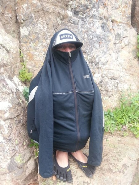 Rock Climbing Photo: Do not feed the Ruth Lake Fauna (Chase Saxton)