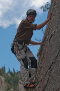 Rock Climbing Photo: A historic shot from 2010 (photo by Florian Alberg...