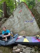 """Rock Climbing Photo: """"The Arrow of Light"""" follows the right a..."""