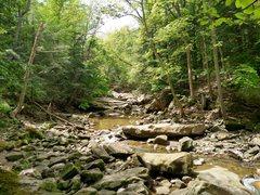 Rock Climbing Photo: The gorgeous Chippewa Creek.