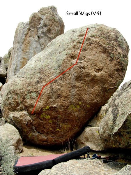 Rock Climbing Photo: Small Wigs.