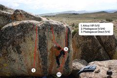 Rock Climbing Photo: Madagascar.