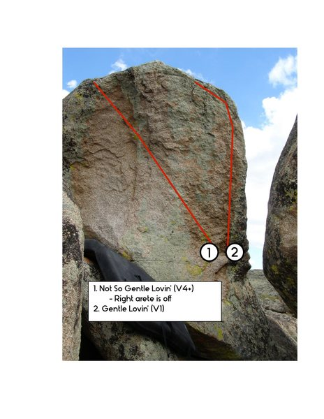 Rock Climbing Photo: Not So Gentle Lovin'.