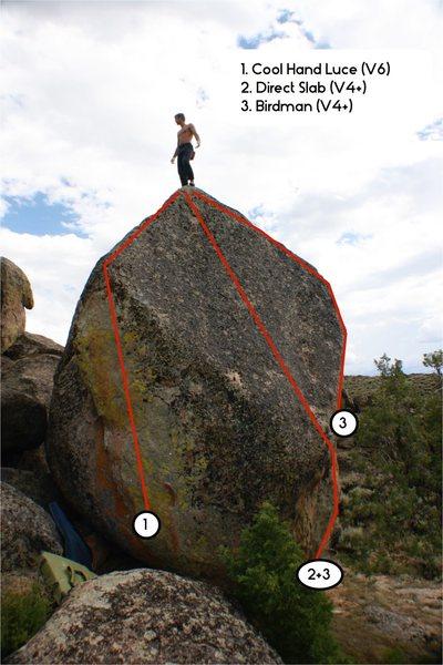 Rock Climbing Photo: Birdman.