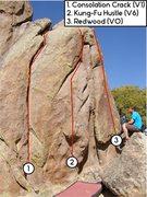 Rock Climbing Photo: Kung-Fu Hustle.