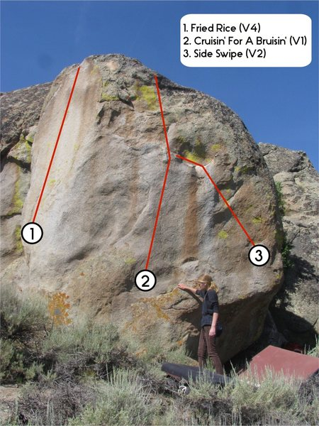 Rock Climbing Photo: Cruisin' for a Bruisin'.