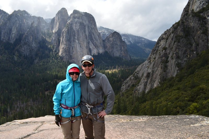 Rock Climbing Photo: The wife and me