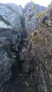 Rock Climbing Photo: View of P2