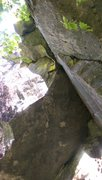 Rock Climbing Photo: view of the dihedral