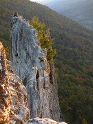 Rock Climbing Photo: First summit of Seneca