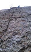 Rock Climbing Photo: J-Sexy rockin it on lead