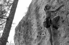 Rock Climbing Photo: This may be the best route in Bear Canyon